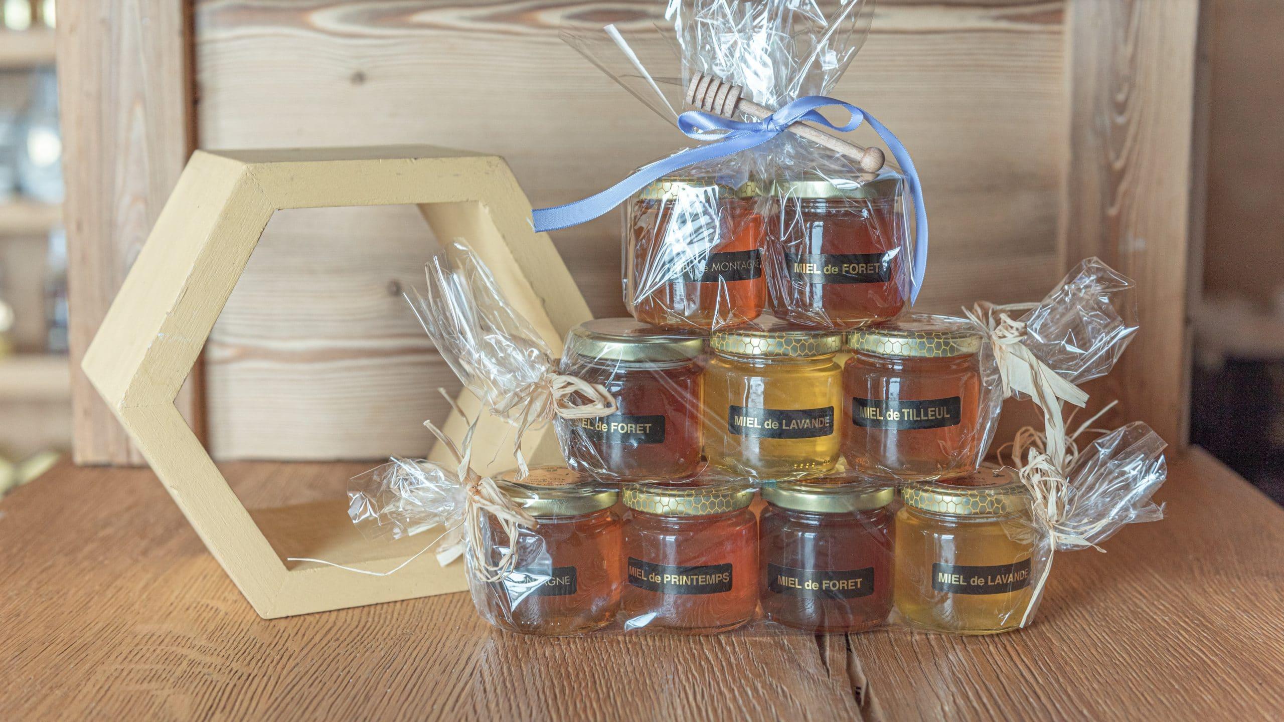 miel artisanal de Savoie de la Miellerie des Arves